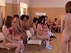 Subtitulada sin censura, Japonés, nudistas de la escuela del club orgía