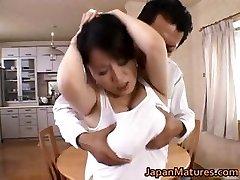 Мики Сато реальные азиатская мама оргии part5