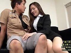 hot asiatice secretar profită 1