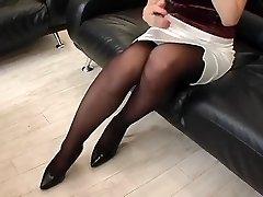 soția japoneză în ciorap 6-1
