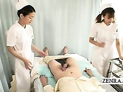 subtitrari el nud ea imbracata două surori japoneze facut cu mana cu sperma aruncata pe fata