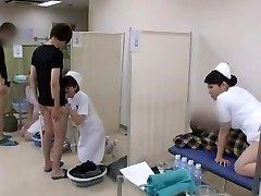 Spectacular Japanese model Yuri Aine, Yu Kawakami, Aya Sakuraba in Horny Nurse JAV vid