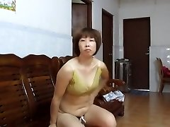 Japanese First-timer MILF Showing Off
