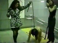 Chinese mistress metro spank