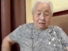Japonês Avózinha 80yo