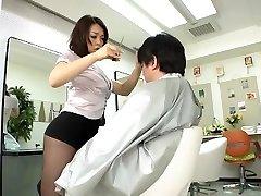 Avs-museum100438 Erótica Mini-Saia Barbeiro Reiko Nakamori Sc1 sem Censura