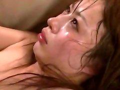 Crazy Japanese damsel Mau Morikawa in Mischievous Cuckold, Gangbang JAV video