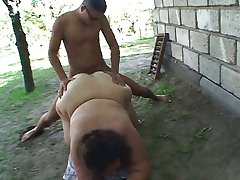Fat cowboy chick cock horny