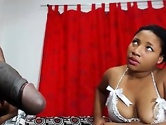 Ebony nurses knows how to cure big dark-hued hard-ons