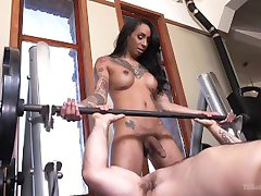 Sweat Hard For Honey Foxx's Cock!