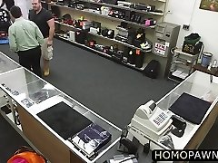 Naughty boys enjoys anal threesome