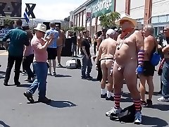 Father Naked in Public