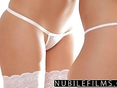 NubileFilms - Best buddies lesbian seduction