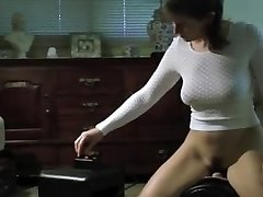 Hot Caboose Mature Wife on Sybian