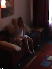 Here`s a real hidden camera video that`s just incredible to watch. This boyfriend setup a video camera on the shelf before his girlfriend came over and it records everything.