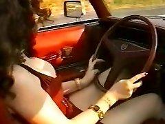 La Signora In Cadillac Col Nero Dietro Total Antique MOVIE