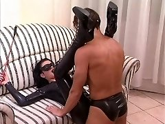 Pulverize the milf is dressing a latex catsuit