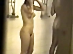 Classic covert school shower tape with hot girls - enhanced quality & slowmo
