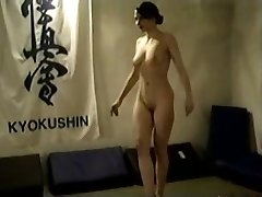 Naked Black-haired Catfight
