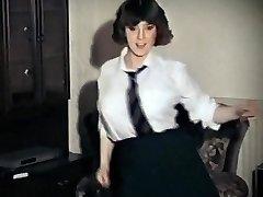 WHOLE LOTTA ROSIE - vintage big funbags schoolgirl strip dance
