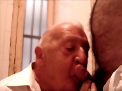 Not Grandpa gay suck and swallow