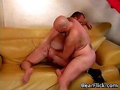 Gay bear whore sucking and probing part4