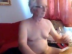Grandpa cum on cam 9