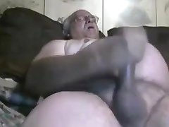 Old cum on cam 13