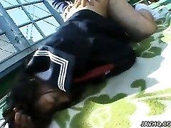 Chubby Misa Kashigawi pummeled outdoors