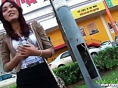 Sexy Thai damsel eager for big white cock