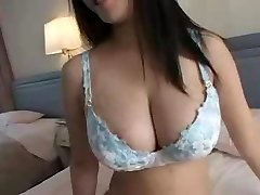 Playing With Humungous Boobs
