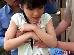 Supple facialized asian teens mmf threeway