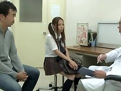 Medical examination with warm Chinese vixen being fucked by hung doctor