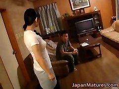 Naughty japanese mature babes sucking part4