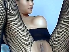 Busty Asian Girl Takes Anal.