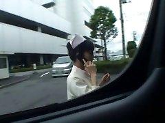 Super sexy Japāņu medmāsas nepieredzējis