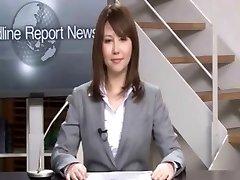 Tõeline Jaapani news reader kaks