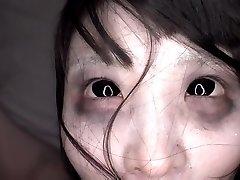 JAV bizarre CMNF finger-banging with shaved ghost Subtitled