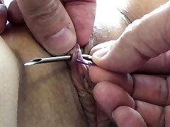 Ekstreme Nål Tortur BDSM og Electrosex Negler og Nåler