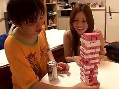 Ragveida Japāņu prostitūta Yui Tatsumi Pārsteidzošs šauri, mazi pupi, JAV filmas