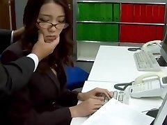 Ondertiteling - Baas neukt haar japanse secretaris Ibuki