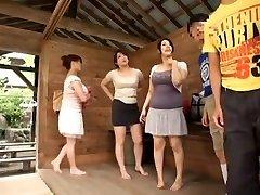 Greatest Asian girl Sumire Shiratori, Hitomi Yuki, Reina Nakama in Best Compilation, Outdoor JAV movie