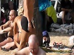 Pattaya beach candid cam - Silver Sand Hotellet 2011