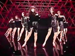 warm Korean girls dance softcore