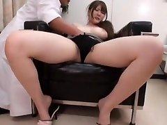 Horny Japanese girl Momoka Nishina in Magnificent Medical JAV video