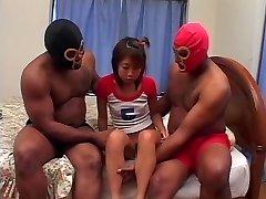 Anális creampie, BBC DP a Japán lány