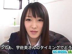 Nana Usami Gets Creampied In Her College Uniform