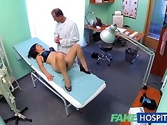 FakeHospital Beautiful vietnamese patient gives therapist romp