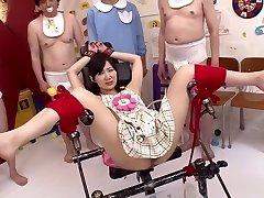 Crazy Japanese mega-bitch Maki Hoshikawa in Best domination & submission, masturbation JAV movie