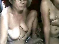 FILIPINA GRANDMA AND NOT HER GRANdaughter Showing ON Web Cam
